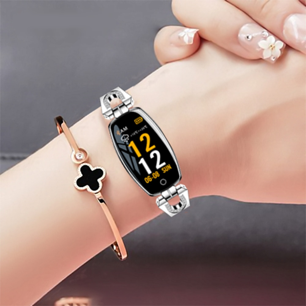 Waterproof Women's Smartwatch with Heart Rate Monitor