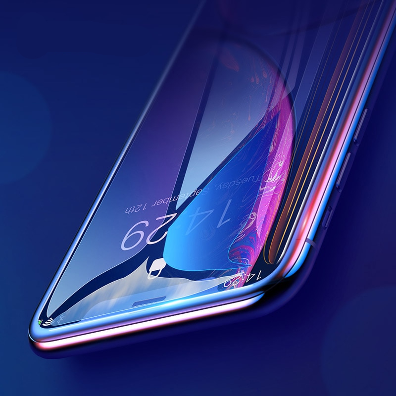 0.3mm Full Coverage Tempered Glass For iPhone Xs Xs Max XR 2018 Screen Protector Thin Protective Glass For iPhone X Xs XR