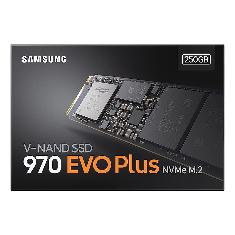 Samsung 970 EVO PLUS M.2 SSD 250GB 500GB 1TB nvme pcie Internal Solid State Disk HDD Hard Drive  inch Laptop Desktop MLC PC Disk