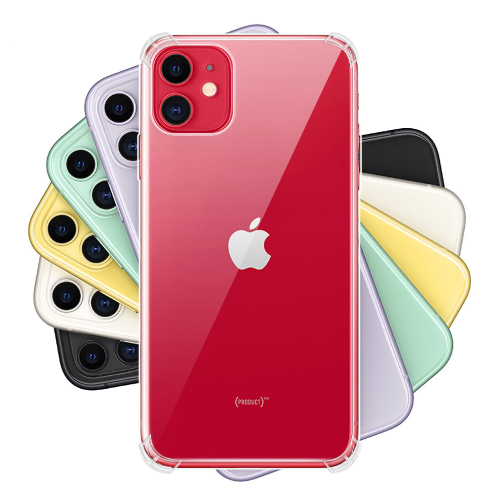 KISSCASE Original Shockproof Case For iPhone 11 Pro Max 11 Pro 11 Soft Silicone Case For iPhone 5S 6S 6 7 8 Plus XR XS Max X Bag