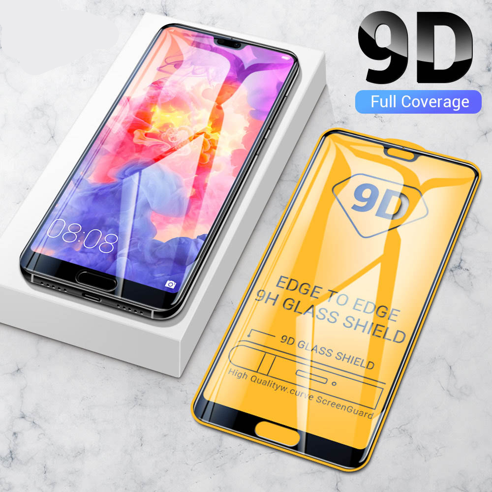 KISSCASE 9D Tempered Glass for Huawei P30 P20 lite pro Screen protector for Huawei P30 P20 mate 20 lite Protective Glass Nova 4