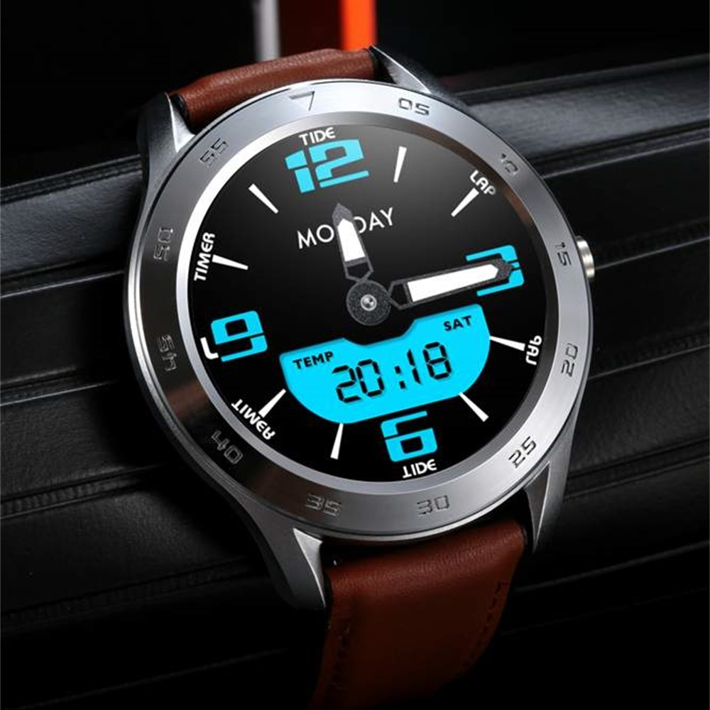 DT98 Business Men Smartwatch ECG Heart Rate IP68 Fitness Tracker Full Touch Bluetooth Call Wristwatch.