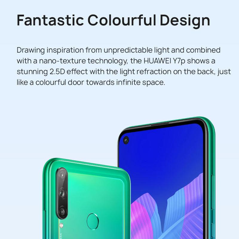 Huawei Y7P 64GB Smart Mobile Phone