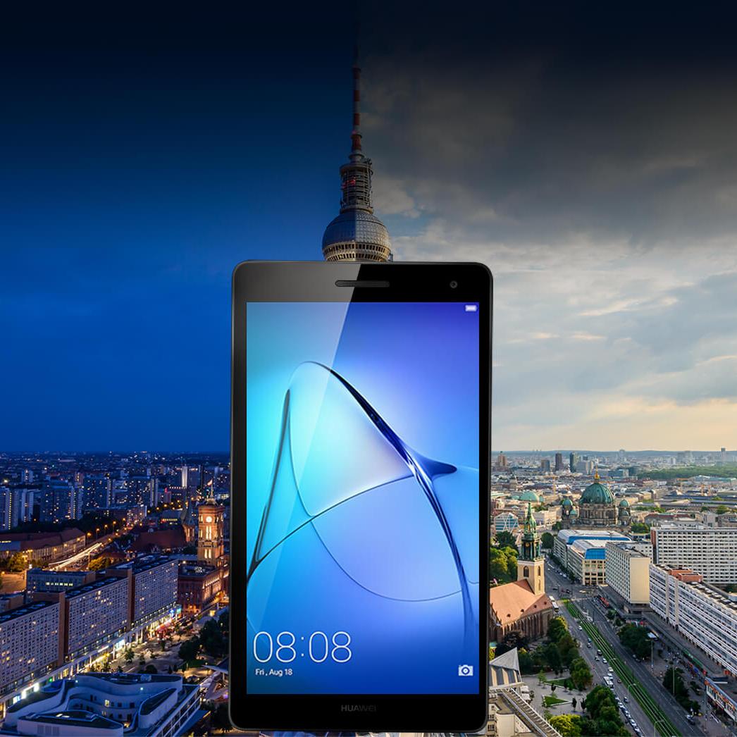 Huawei MediaPad T3 - 7 Inch - 16 GB, 3G Tablet Grey